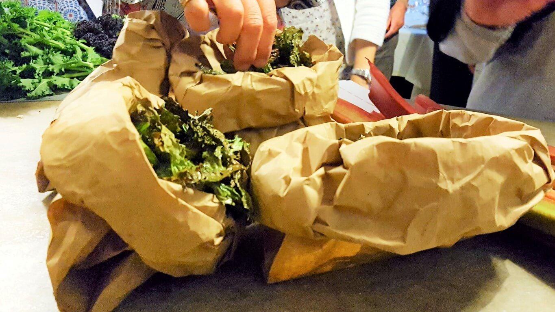 Corsi di cucina Milano con cena: Rabarbaro incontra Cavolo Kale