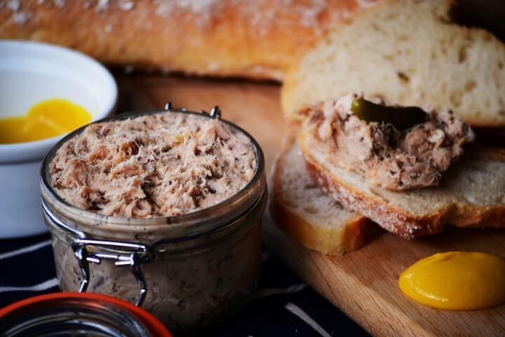 Ricette con rabarbaro fresco: patè anatra e rabarbaro