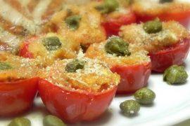 Ricetta del pomodoro ripieno al forno con pangrattato