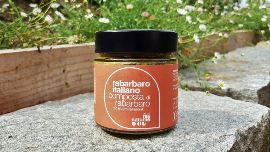 Ecco la nostra nuova Composta al Rabarbaro Italiano!